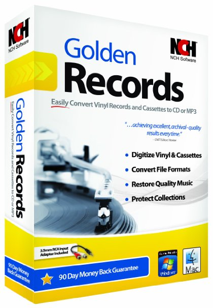 Nch Golden Records Vinyl To Cd Converter Software