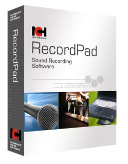 Download NCH RecordPad Sound Recorder Software