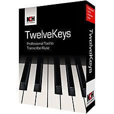 Download NCH TwelveKeys Music Transcription Assistant Software