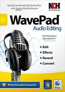 Download NCH WavePad Audio Editing Software