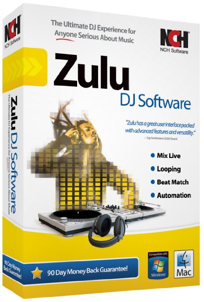 Download NCH Zulu Professional DJ Software