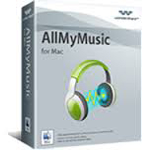 Download Wondershare Allmymusic for Mac Software