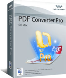Download Wondershare PDF Converter Pro for Mac Software