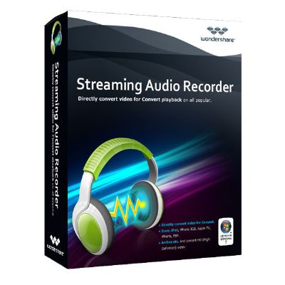 Download Wondershare Streaming Audio Recorder Software