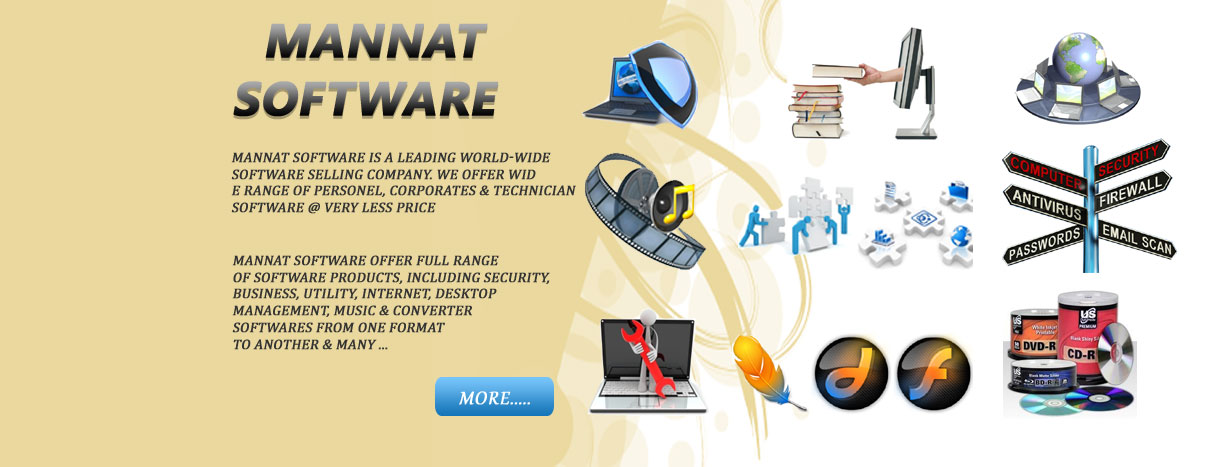 Mannat Software is a Leading World-Wide Software Selling Company