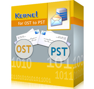 Download Kernel OST to PST Converter Software