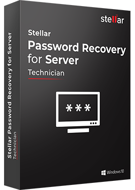 Download Stellar Windows Password Recovery Software