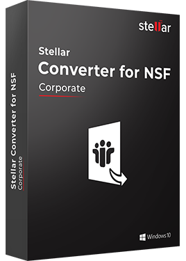 Download Stellar NSF to PST Converter Software